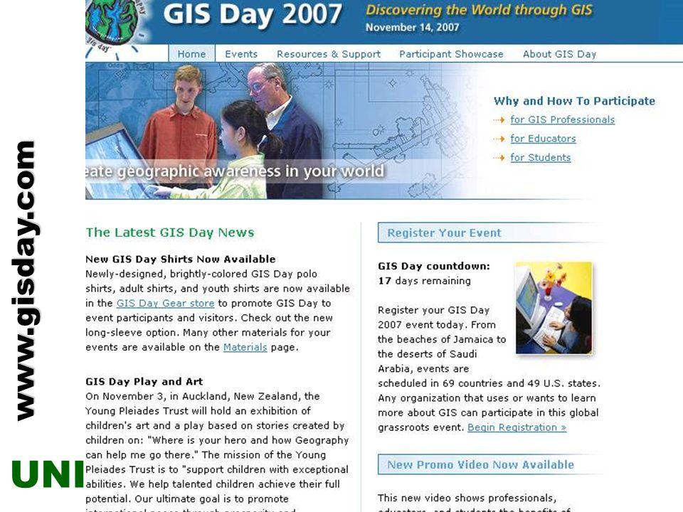 GIS Day www.gisday.com