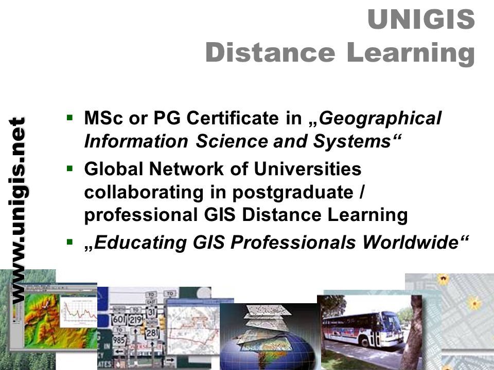 UNIGIS Distance Learning