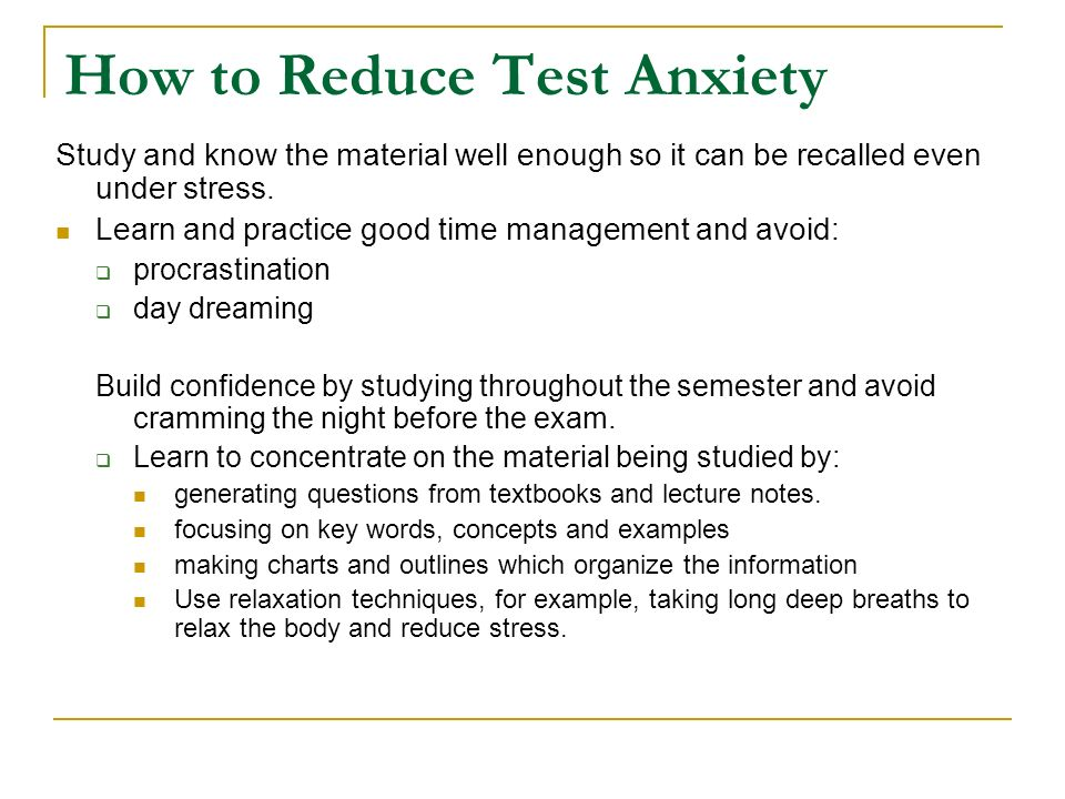 Too Much Test Stress? Parents, Experts Discuss High-Stakes Standardized Test Anxiety