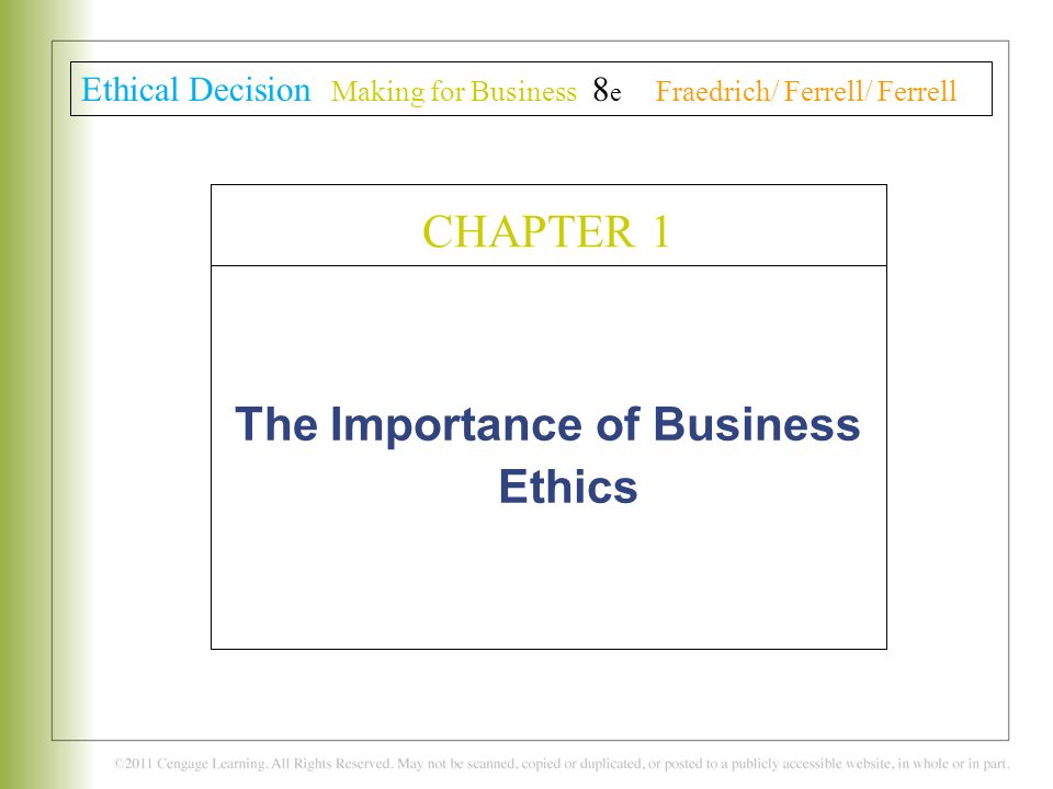 the importance of ethics and morality in a company Academiaedu is a platform for academics to share research papers.