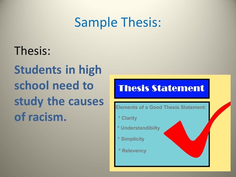 thesis of racism This thesis aims to study subjective understandings of racism in contemporary irish society this aim was achieved by combining a close examination of the available literature with fieldwork the literature reviewed in chapters one and two, helped develop an understanding of 'race'-related terminology by.