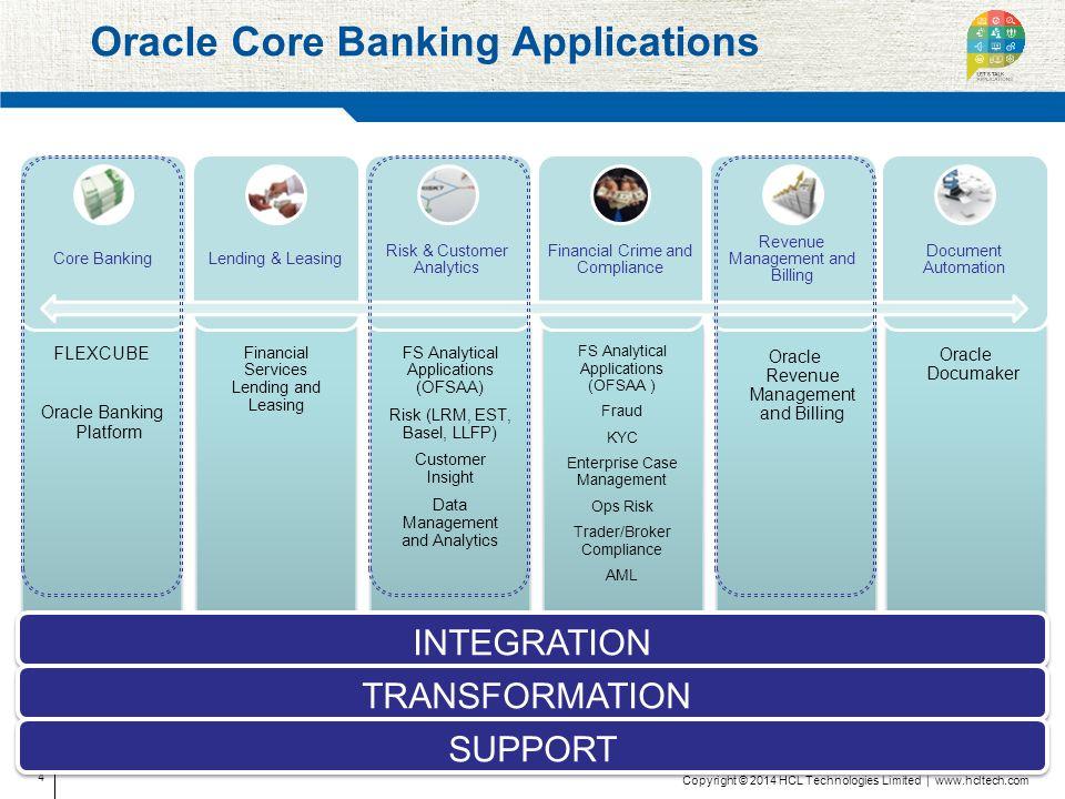 Oracle FLEXCUBE Core Banking Brochure - mandegar info