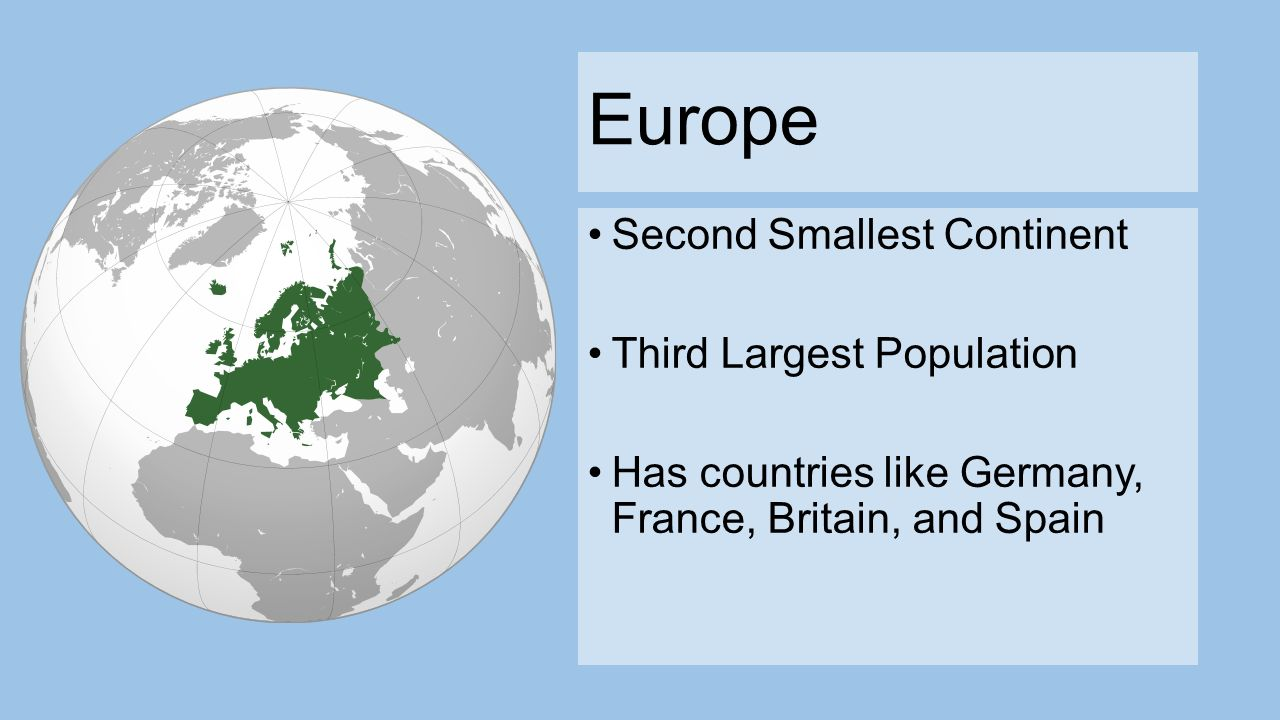 Smallest country in europe