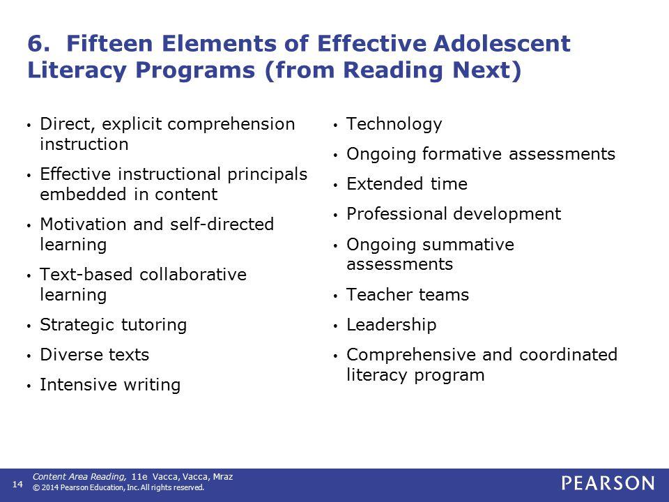 RtI for Struggling Adolescent Learners