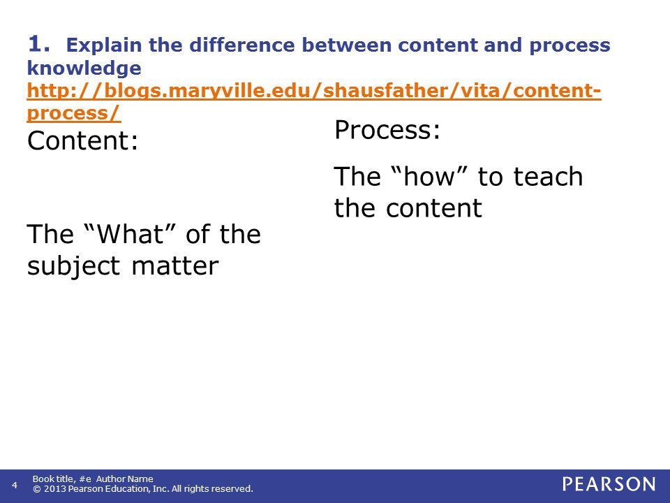 2. Summary of Effective Teacher Characteristics