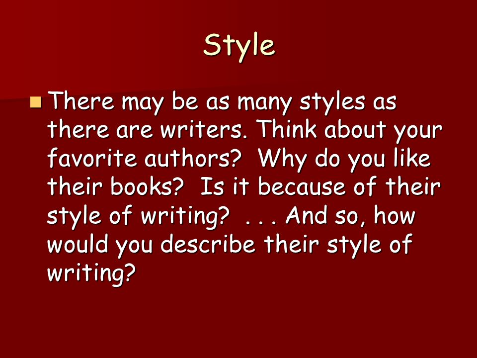 oh sostyles writing a book