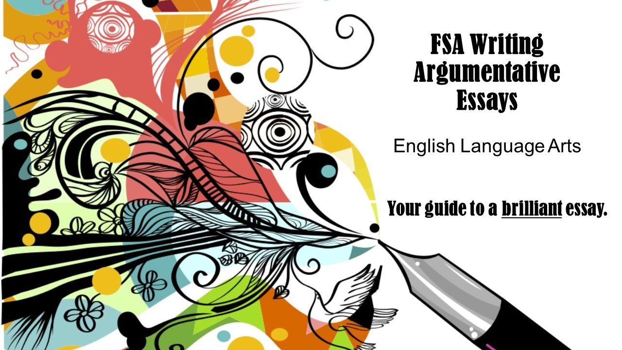 Sample argumentative essay on google slide presentation