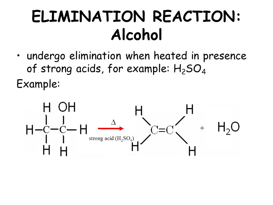 elimination reactions This set of organic chemistry multiple choice questions & answers (mcqs) focuses on elimination reaction 1 assuming both the reactions as e1, where will the expected ratio between k h /k d lies between.