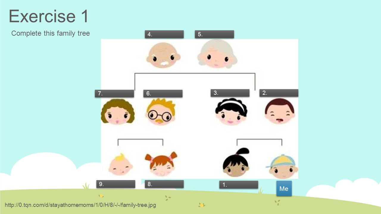 me and my family tree pdf