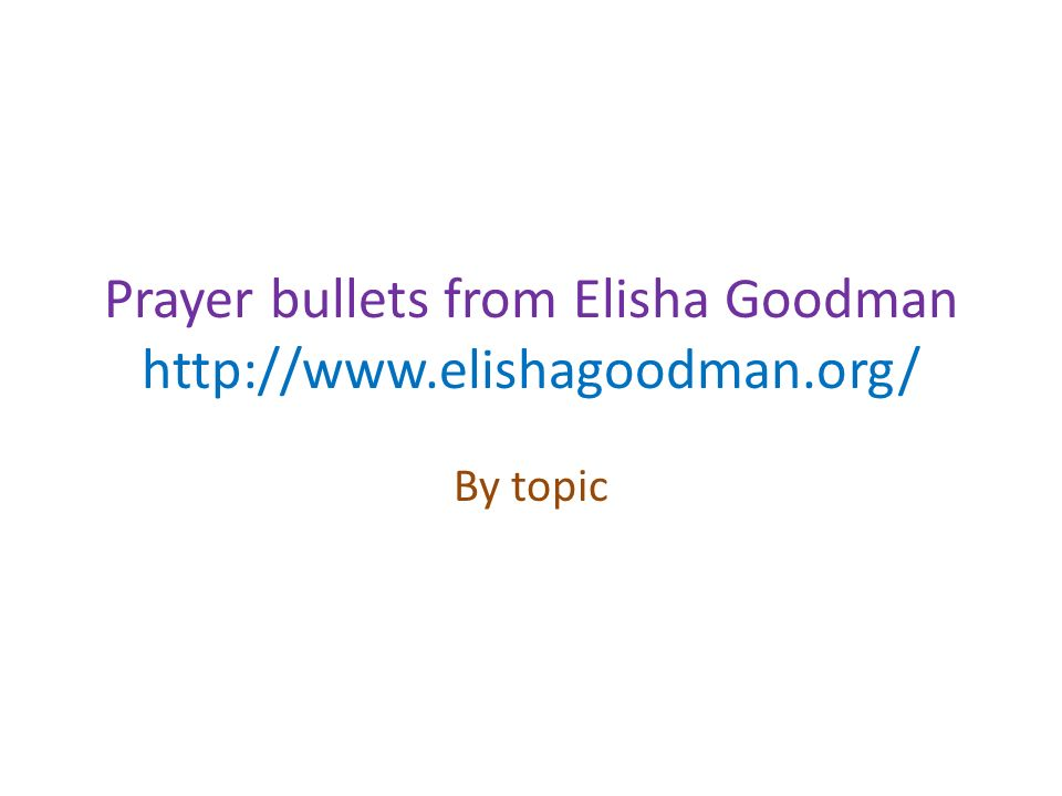 prayer academy elisha goodman Elisha goodman prayer academy judy delvalle 3 videos 11,007 views last updated on may 31, 2015 play all share loading savenbspelisha goodman prayer academy 441 likes book there are specific prayers that can deliver you from debt a powerful example just hit my inbox, all the way from johannesburg.