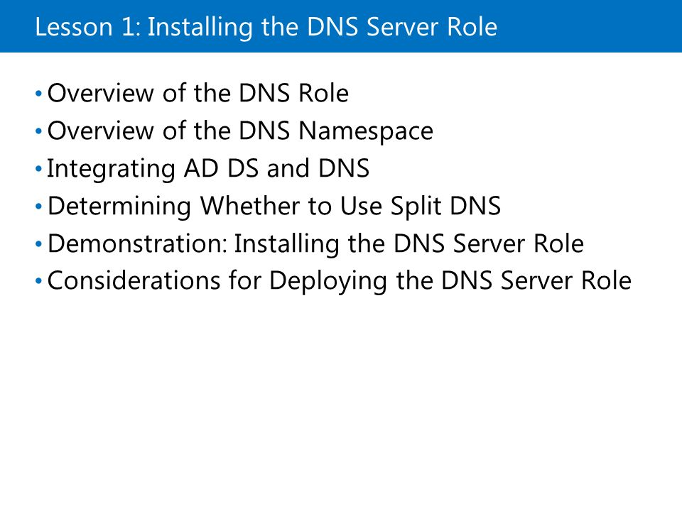 a explain the role installation and configuration Configuring windows deployment services on server 2012 r2 with dhcp running on ubuntu 14045 lts server wds is a microsoft from server roles as soon as you check the box, a new window will appear (as shown in the figure) , prompting you to add features which are required for this wds role.