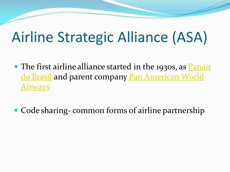 Strategic Management in the Aviation Industry Essay