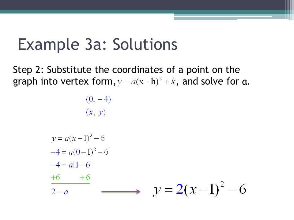 Vertex Form Of Quadratic Function Ppt Download