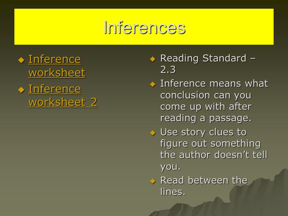 Black Cowboy Wild Horses 519S ppt download – Inferences Worksheet 2