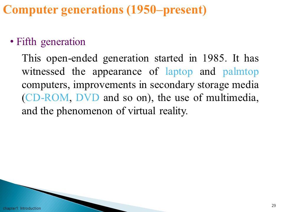Computer generations (1950–present)