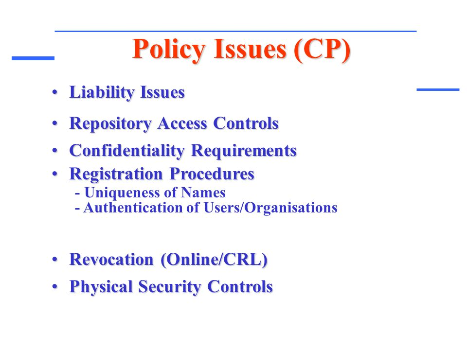 physical access control policy template - public key infrastructure x509 pki presented by ali