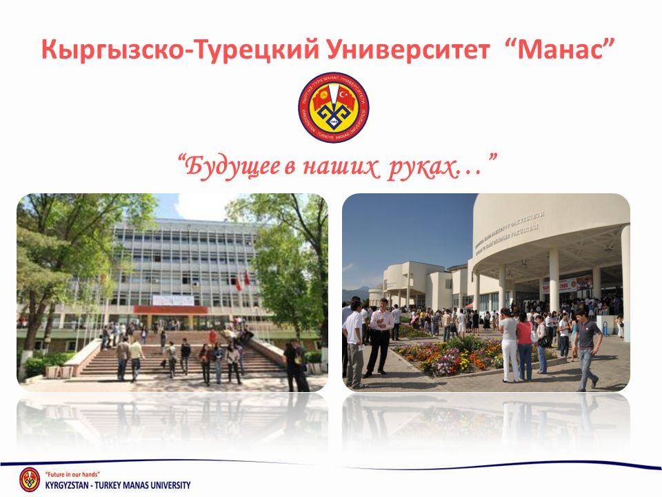 Кыргызско-Турецкий Университет Манас