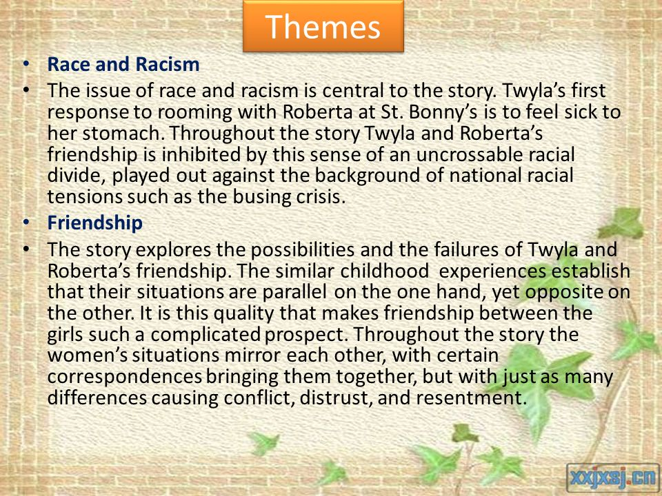 the theme of racism in toni morrisons essay recitatif The struggles with racism in recitatif, a short story by toni morrison pages 3 words 967 view full essay more essays like this:  sign up to view the complete essay show me the full essay show me the full essay view full essay this is the end of the preview sign up to view the rest of the essay.