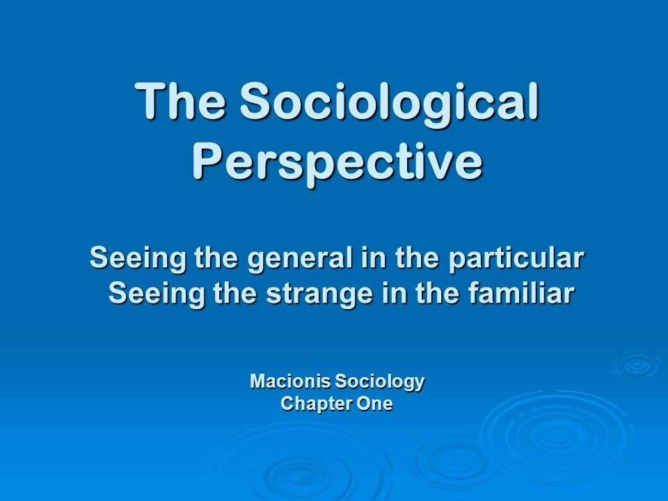 sociology chapter 9