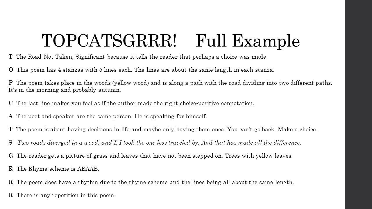 worksheet The Road Not Taken Worksheet poetry unit olgin 4th grade ppt video online download 16 topcatsgrrr full example t the road not taken significant