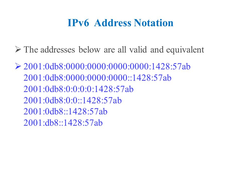check ipv6 address validity