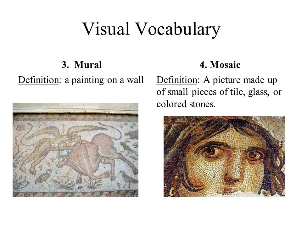 The legacy of the roman empire eq to what extent have the for Mosaic painting meaning