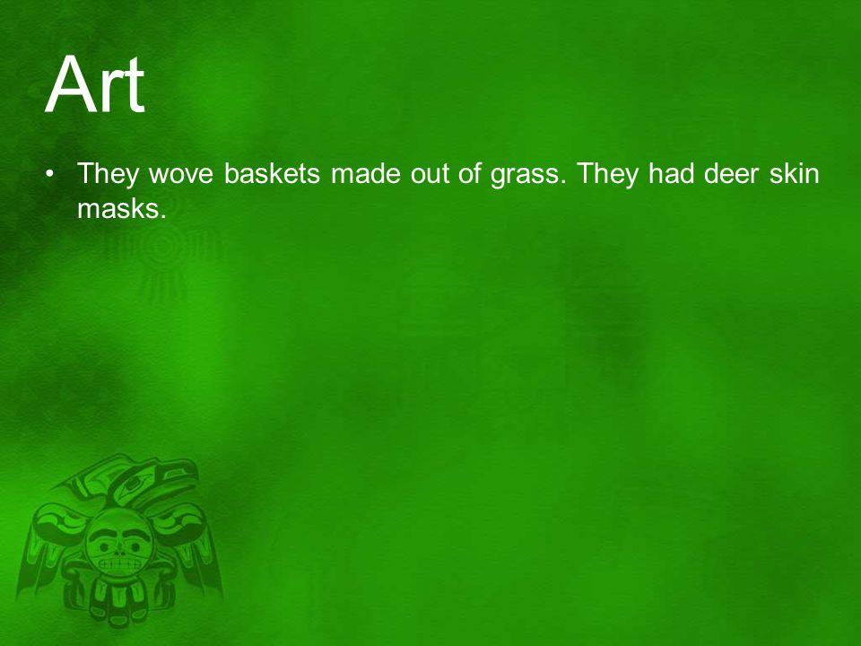 masks and baskets