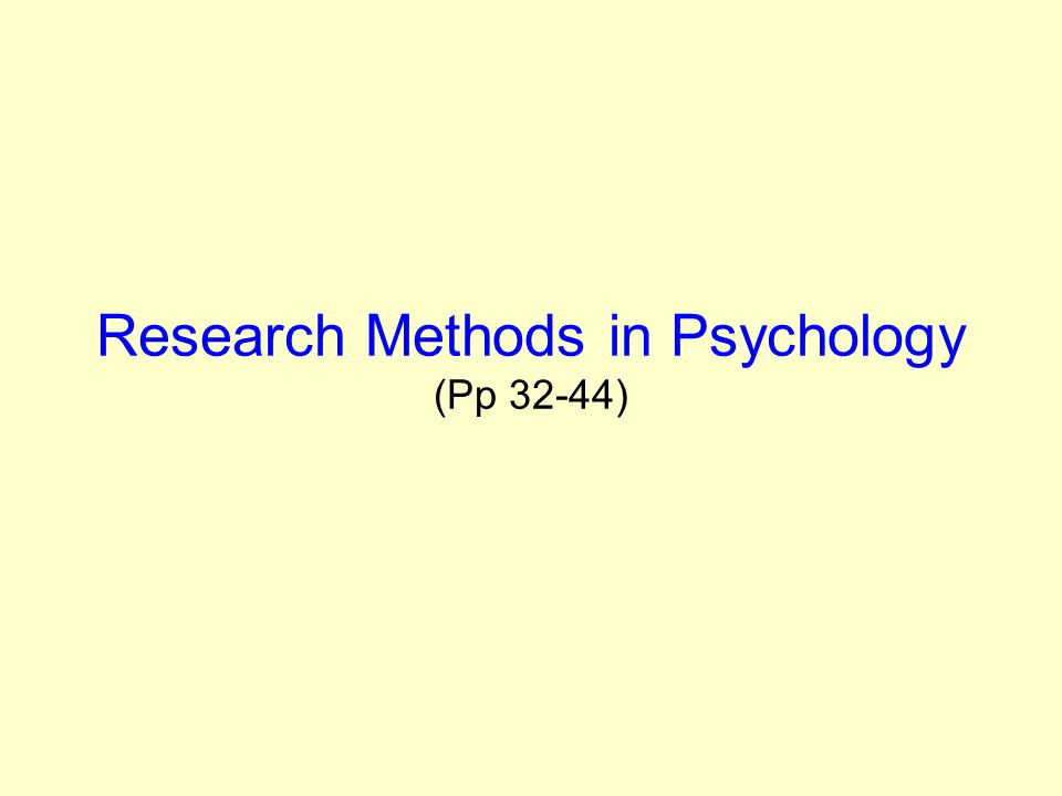 PowerPoint Slideshow about 'Research Methods in Psychology Library Workshop' - gavivi