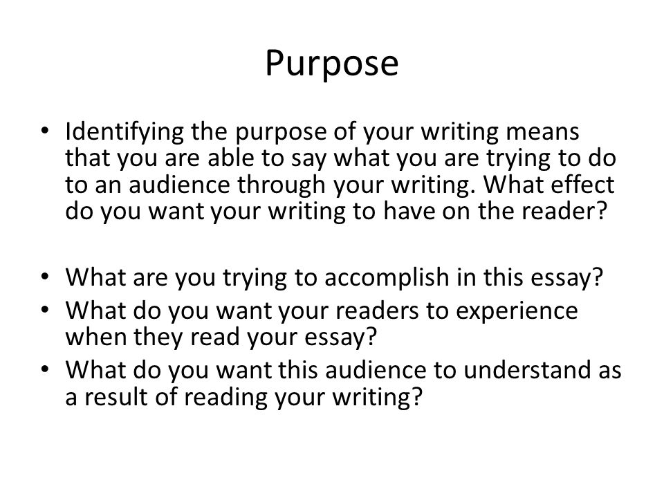 Who Is Your Audience and How Do They Affect Your Work?