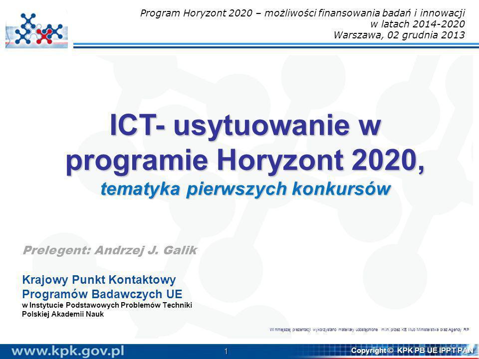 Program Horyzont 2020 – możliwości finansowania badań i innowacji