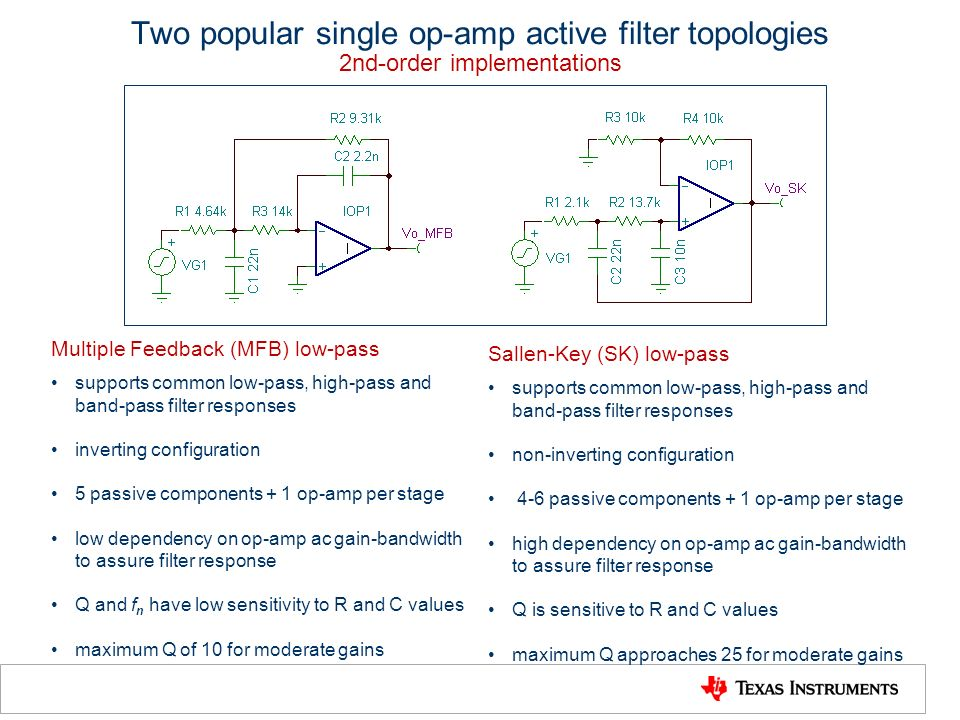 active low pass filter design pdf
