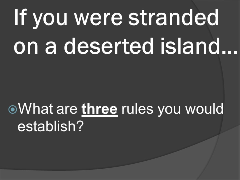 stranded on a desert island essay Hey, me and my bff, samantha, are about to post an amazing story so if you're into vampires, romance, mysterey, and action roleld into one check it out you'll be able to fi.