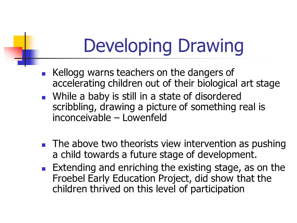 Scribble Stage Of Drawing : Schema theory conceptual development the of