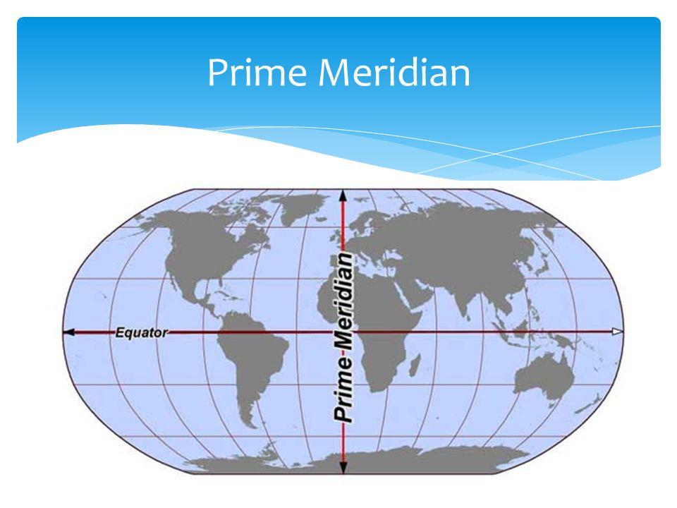 Prime meridian