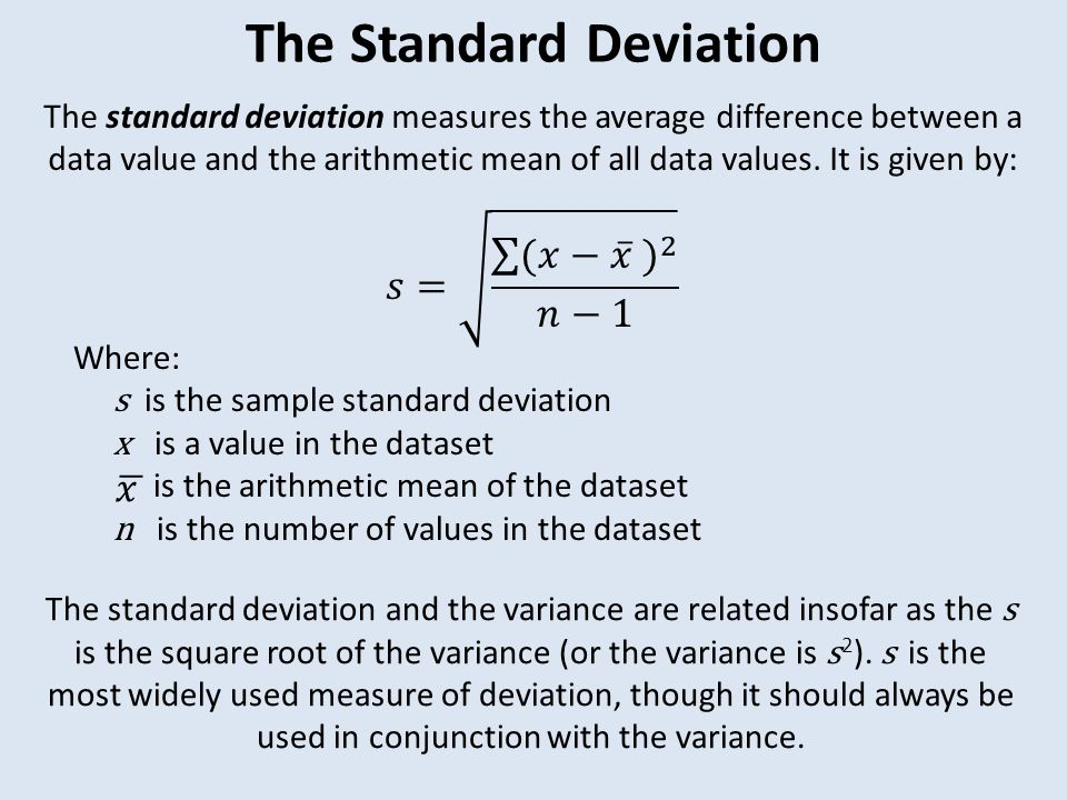 relationship between standard deviation and root mean square