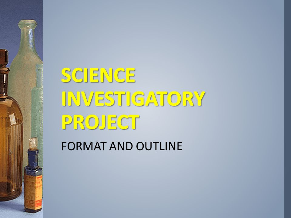 investigatory project abstract sample