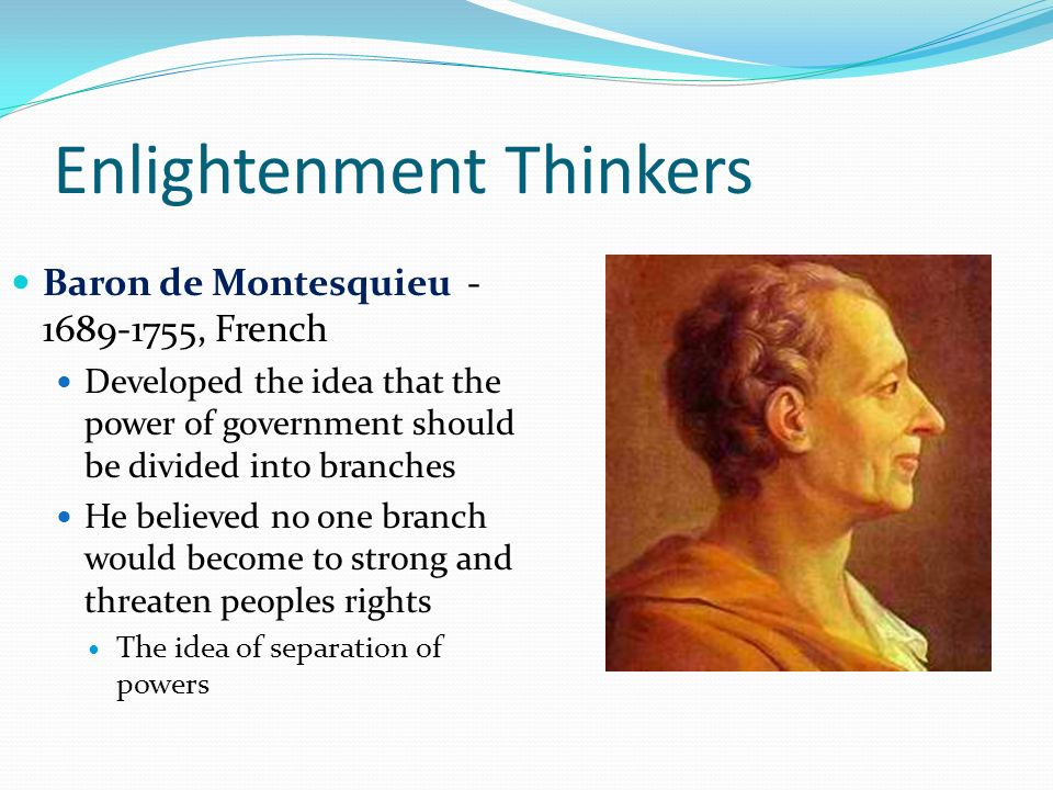the enlightenment of 18th century thinkers The 18th-century spanish enlightenment thinkers criticized medieval scholasticism and religious dogmas, advocated experimental knowledge and enlightenment aesthetics.