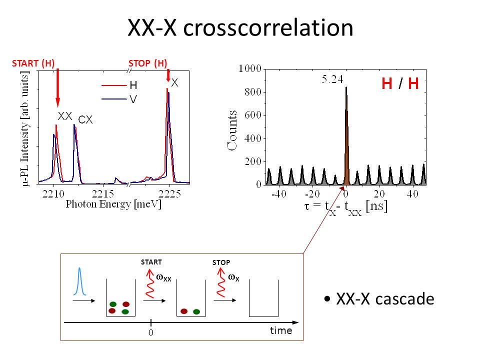 XX-X crosscorrelation