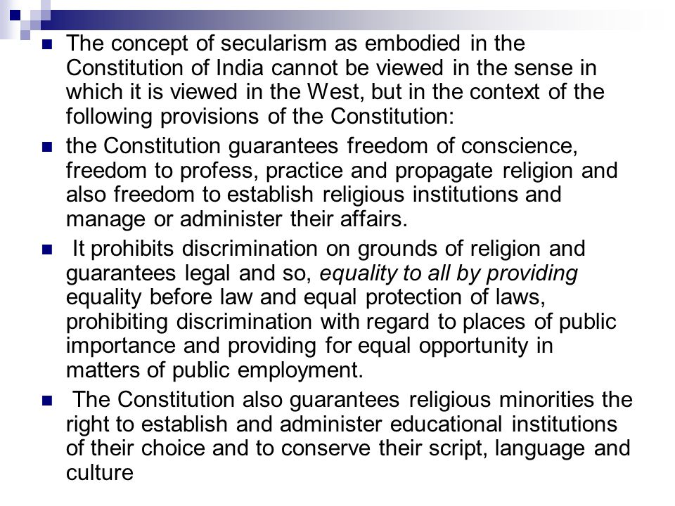 concept of religion and constitution Intermediate level us constitution lesson plan h wwwuscisgov freedom of religion, assemble, assembly, freedom of the and the concept of self.