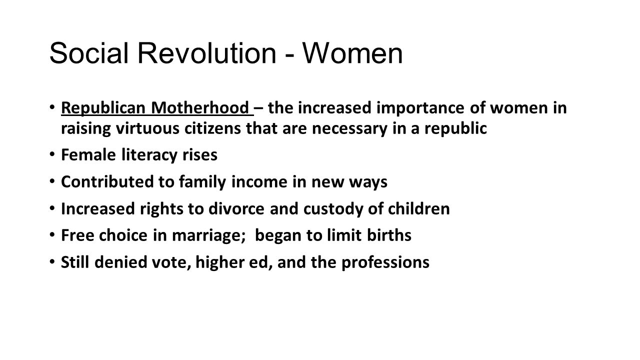 social revolution essay Revolution can bring about important social, political, and economic changes let's talk about some of the causes of social revolution  a social revolution is a fundamental change to the.