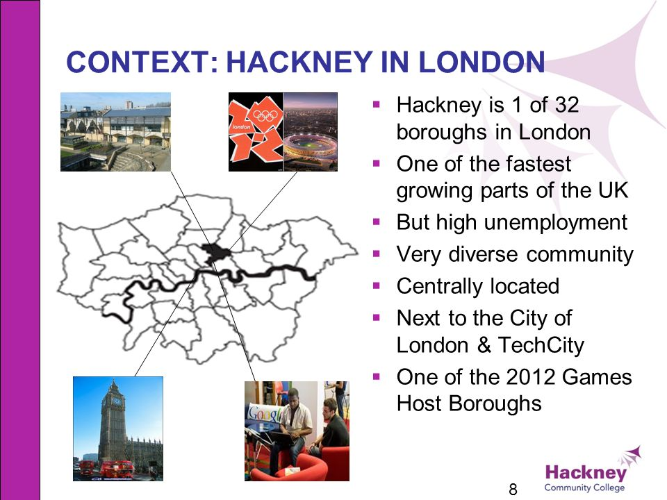 CONTEXT: HACKNEY IN LONDON
