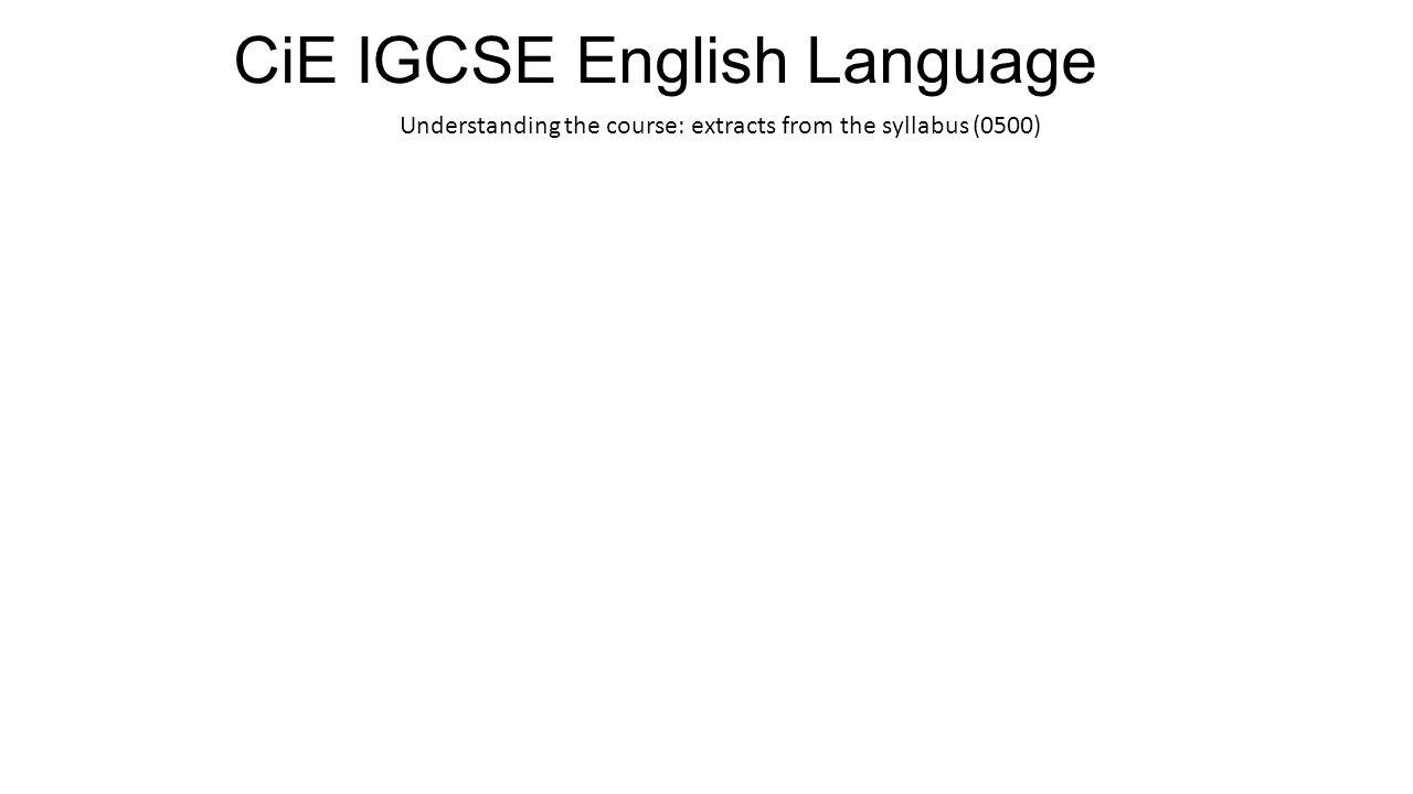 igcse english coursework assignment 2