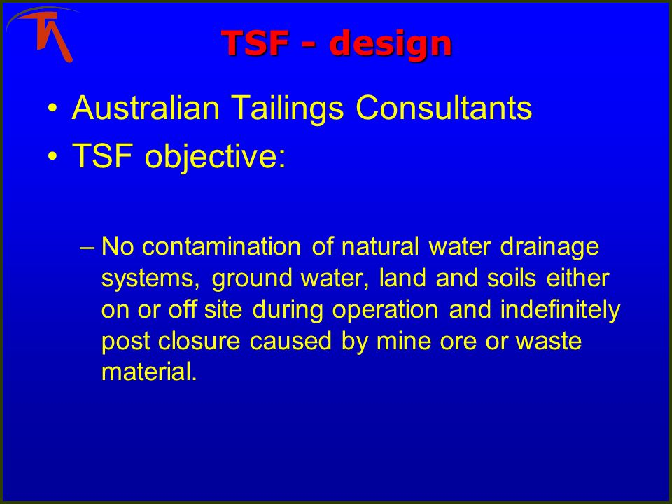 ancold guidelines on tailings dams pdf
