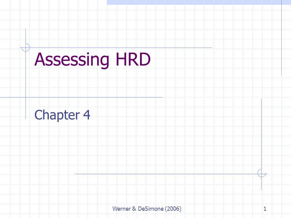assessing hrd need in strategic hrd