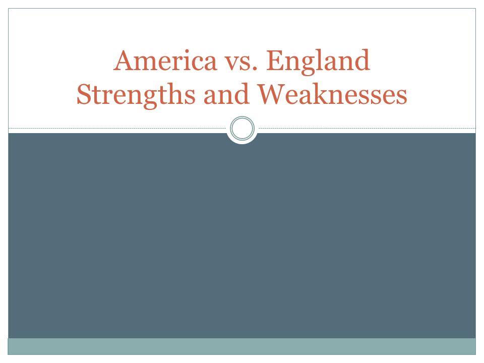 america vs england