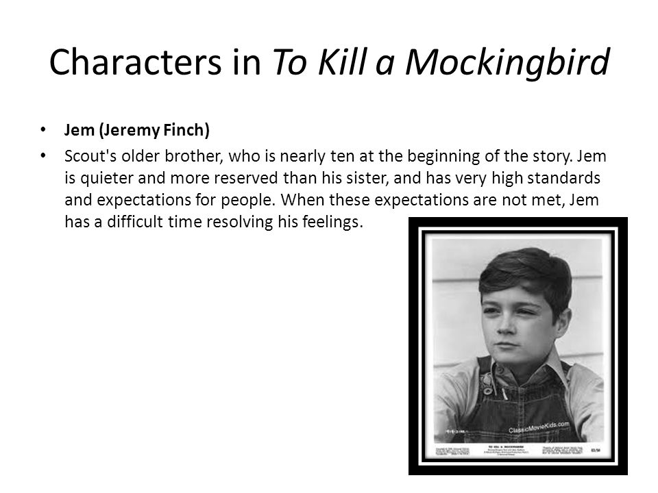 to kill a mockingbird jem