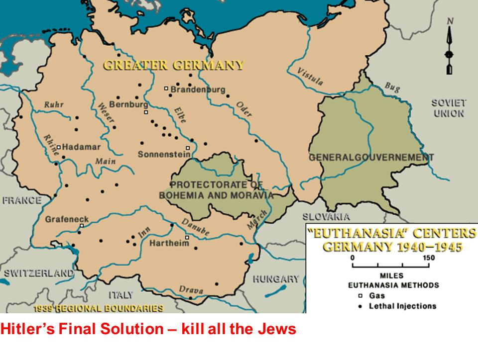 Hitler's Final Solution – kill all the Jews