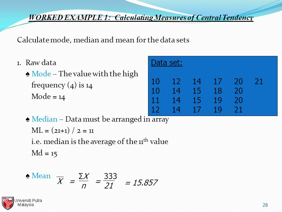 examples of measures of central tendency for grouped data pdf