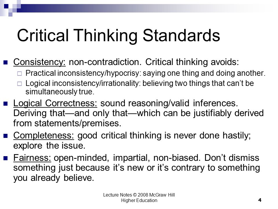 Lecture Notes         McGraw Hill Higher Education  Critical     SlideShare