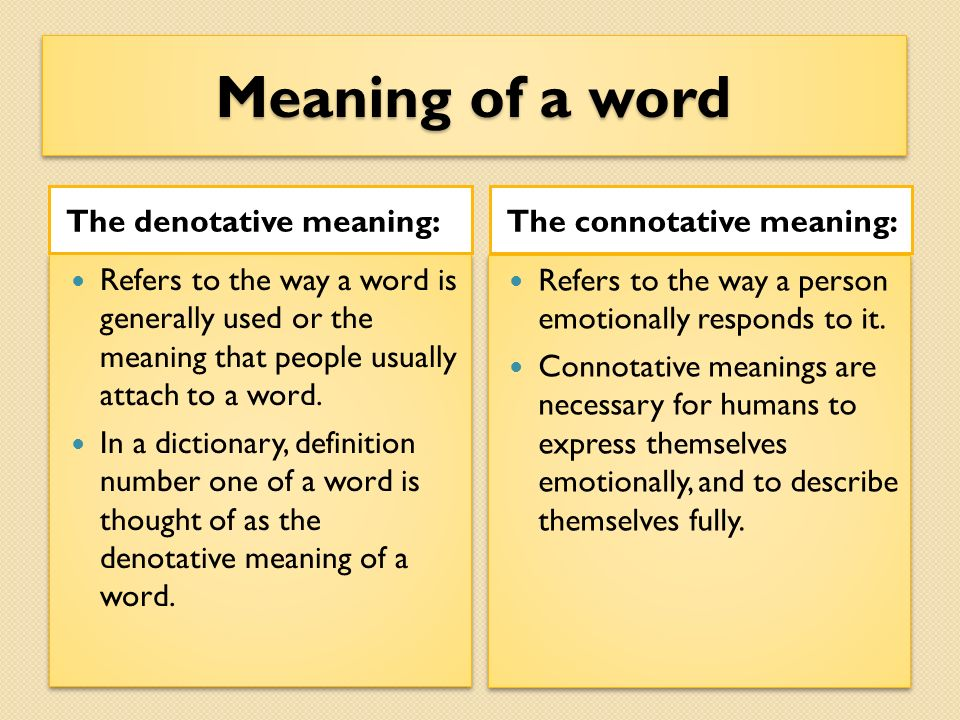 using denotative and connotative meanings Denotative and connotative meaning of the english word in the  denotative meaning or meanings is the  as denotative and connotative meaning.